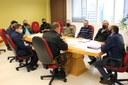 Mesa Diretora da Câmara de Vereadores recebe Conselho Comunitário de Segurança de Pato Branco (CONSEG)