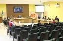 Vereadores recebem Diretora Municipal de Cultura explicando sobre a Lei Aldir Blanc
